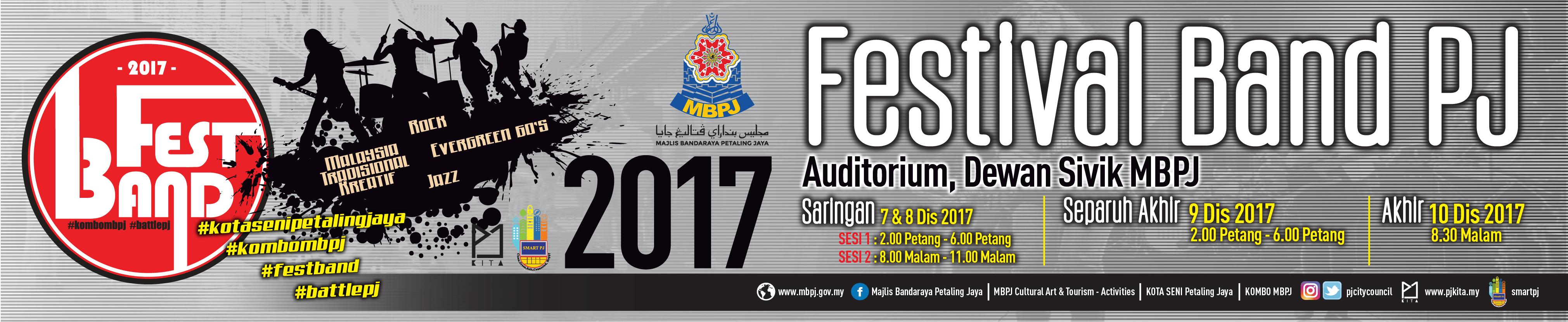 Banner FestBand PJ 2017