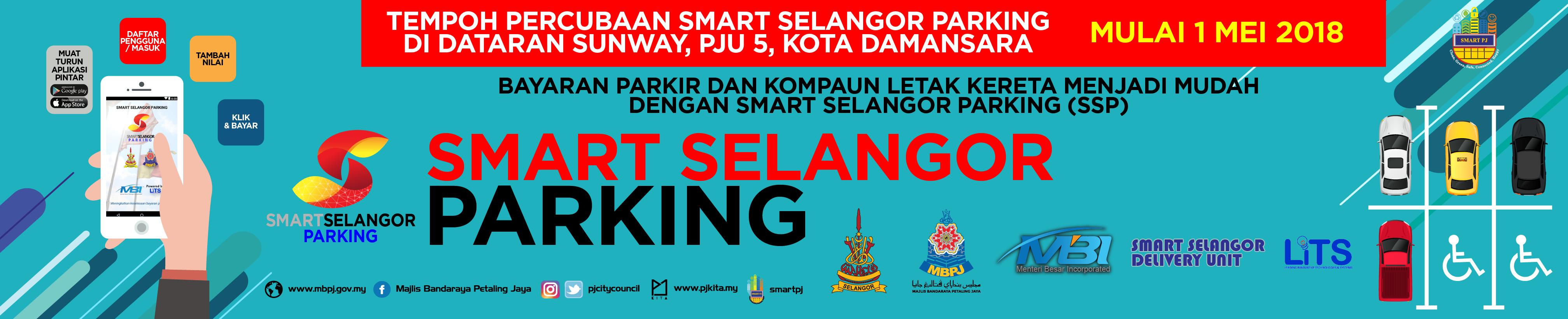 Banner Smart Parking Selangor