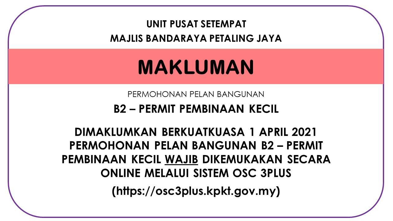 Makluman OSC B2