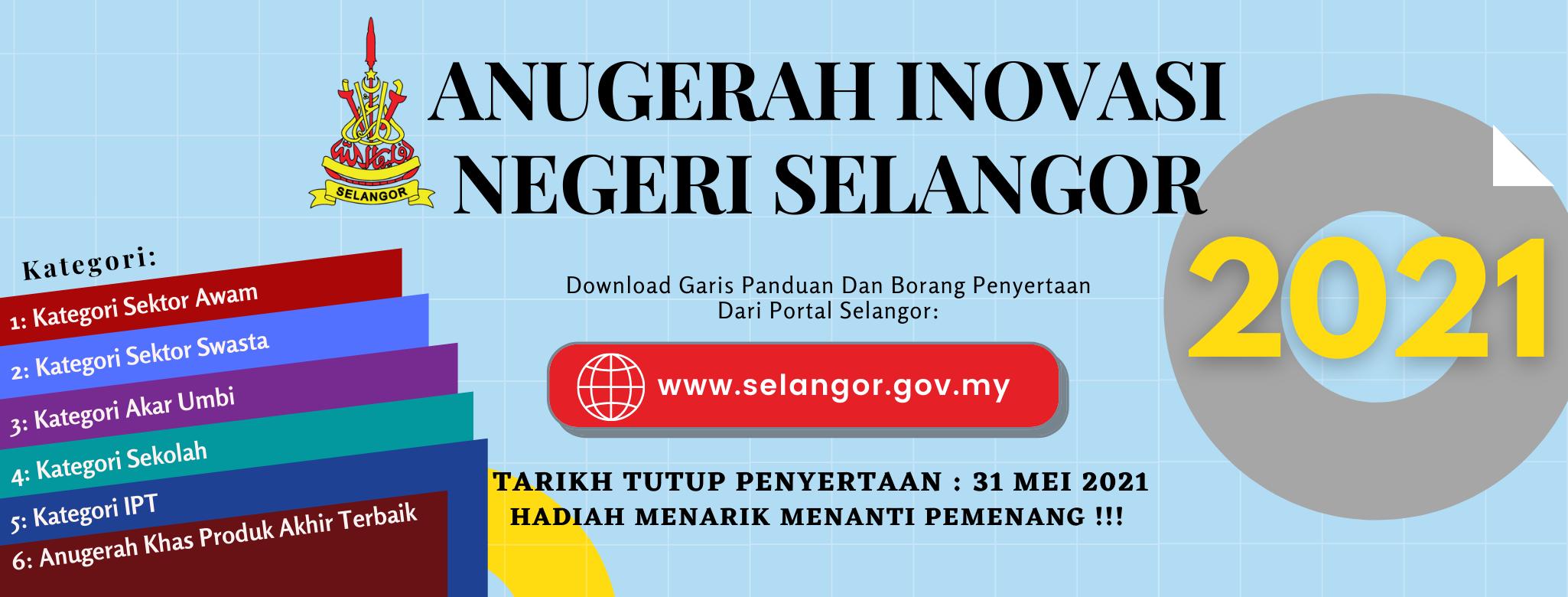 Promosi Anugerah Inovasi Selangor