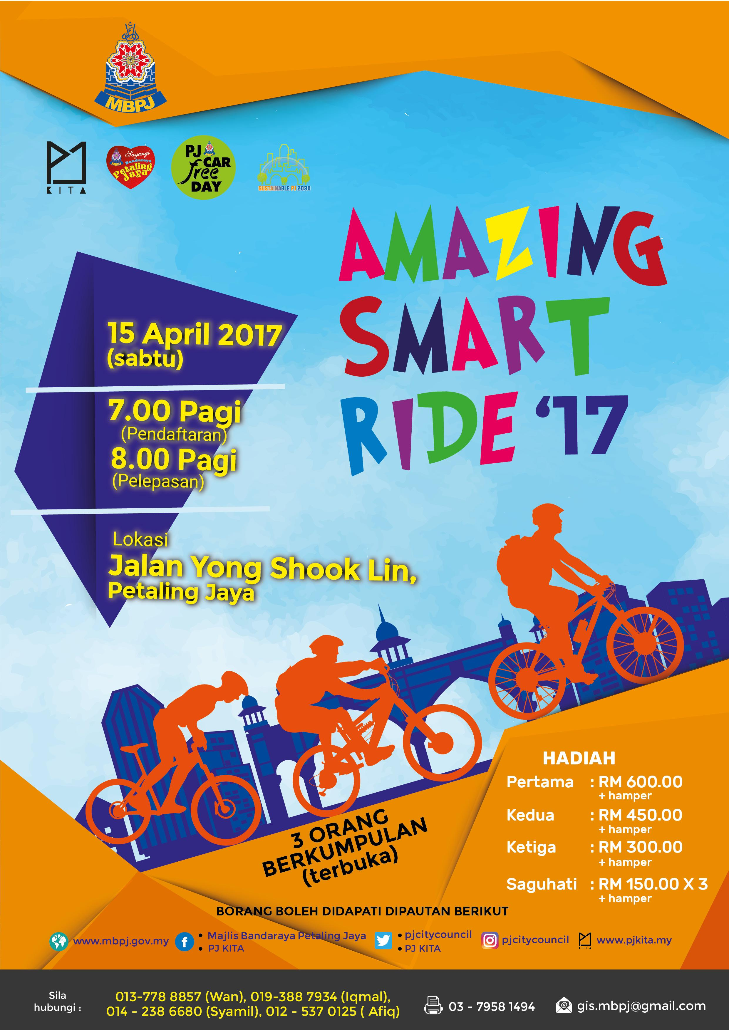 PJ Smart Ride 2017